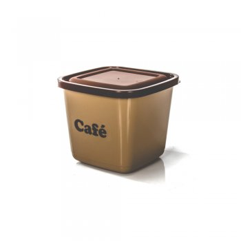 POTE MANTIMENTO QUADRADO AVULSO - CAFE - 2100 ML
