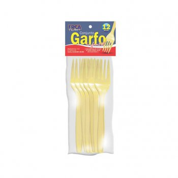 CONJUNTO GARFO INFANTIL - 12 PCS